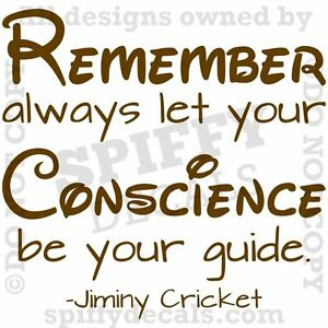 Jiminy Cricket Conscience Quotes Image Gallery HCPR
