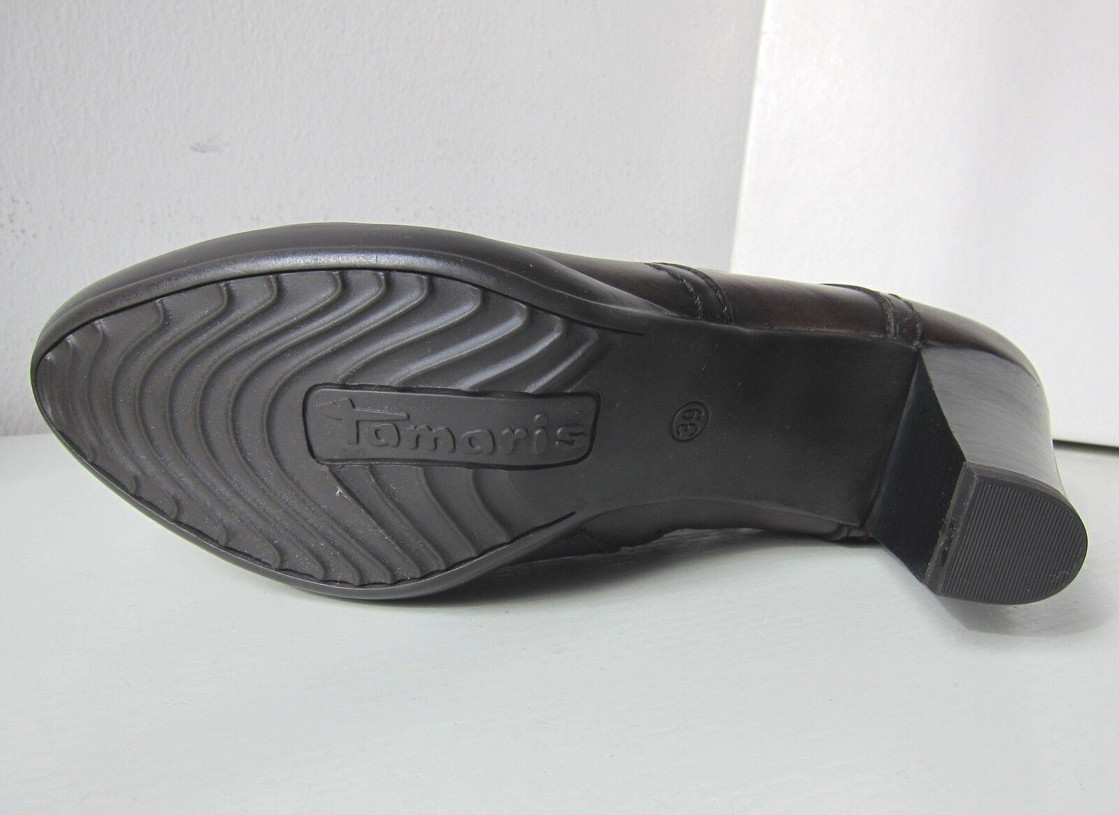 Tamaris Stiefelette mocca braun 40 Stiefel ankle Stiefel bootee Braun Stiefel 40 Pink 085bc4