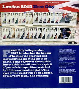 NEW! 29! SET COMPLETE TEAM GB 2012 LONDON OLYMPICS GOLD MEDAL WINNERS