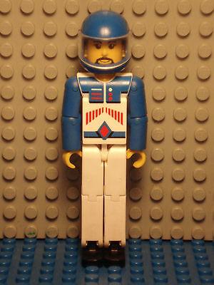 LEGO LEGOS  -  One LEGO Technic Figure Blue Italian Racer