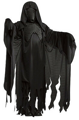 Dementor Harry Potter Grim Reaper Ghoul Fancy Dress Up Halloween Adult Costume