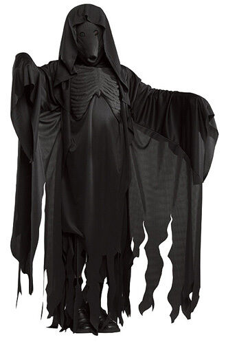 Dementor Harry Potter Grim Reaper Ghoul Fancy Dress Up Halloween Adult Costume
