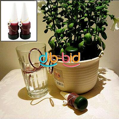 2Pcs Automatic Drip Waterer Spike Watering System Tender Houseplant Plant Indoor