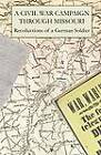 A Civil War Campaign Through Missouri by Quiet Waters Publications (Paperback, 2012)