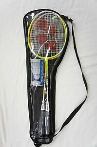 YONEX-2-Players-Badminton-Set-including-2-Racquets-Rackets-Shuttlecocks