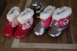Disney-Princess-Toddler-Baby-Boots-non-slip-Snow-white-Great-for-Ski-Ground