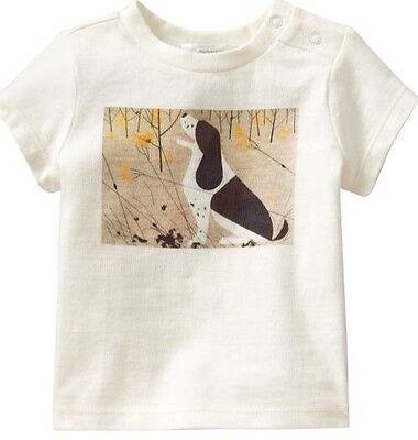 Charley Harper Cotton T Shirt Hound Dog Size 4T Charles Nature Art MC Modern