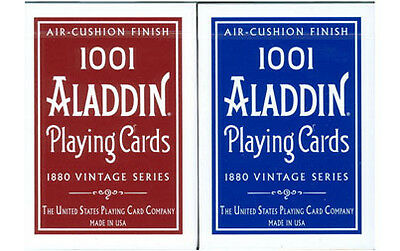 2 DECKS of ALADDIN 1001 Playing cards by Bicycle vintage style classic 1880