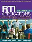 RTI Applications, Volume 2: Assessment, Analysis, and Decision Making: Volume 2 by Matthew K. Burns, T. Chris Riley-Tillman, Kimberly Gibbons (Paperback, 2013)