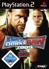 WWE Smackdown Vs. Raw 2009 (Sony PlayStation 2, 2008, DVD-Box)