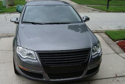 VW PASSAT Badgeless Sport Grill Grille BLACK 3C B6 NEW Rare and Subtle Euro Look
