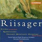 Knudage Riisager - Riisager: Etudes/Qarrtsiluni/Erasmus Montanus Overture (1997)