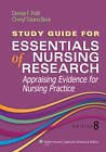 Study Guide for Essentials of Nursing Research by Cheryl Tatano Beck, Denise F. Polit (Paperback, 2013)