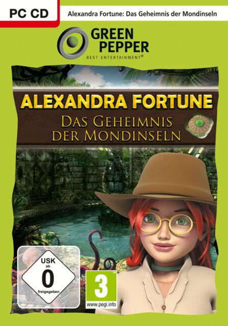 Alexandra Fortune - Das Geheimnis der Mondinseln (PC, DVD-Box)