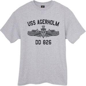 US-USN-Navy-USS-Agerholm-DD-826-Destroyer-T-Shirt