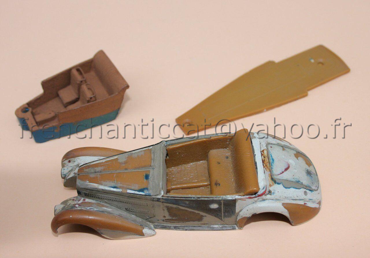 WL Rare prougeotype résine BUGATTI cabriolet 57 C1 + intérieur 1 43 Heco modeles