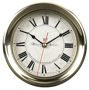 AUTHENTIC-MODELS-Captain-039-s-Nautical-Wall-Clock-Maritime-Antique-Reproduction