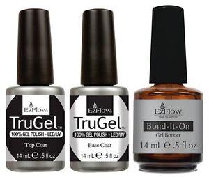 EzFlow-TruGel-UV-Gel-Polish-Base-Coat-Top-Coat-Bond-It-On-0-5oz-15ml