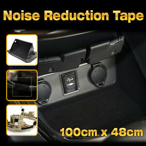 car studio acoustic sound proofing noise reduction tape 39x19inch for all sedan ebay. Black Bedroom Furniture Sets. Home Design Ideas