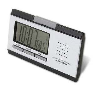Talking-Alarm-Clock-Announces-Time-and-Temperature-BO-Travel-Alarm-Clock-S2258