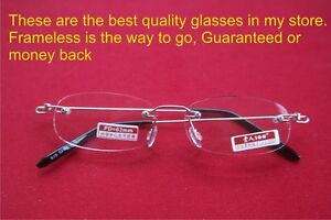 Rimless Glasses Polished Edges : Authentic Mingbo Brand Premium frameless rimless glasses ...