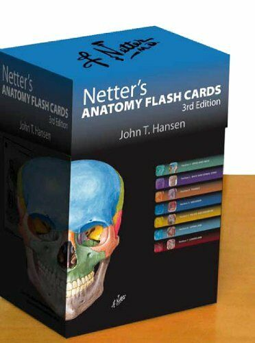 Netter Basic Science Netters Anatomy Flash Cards With Online