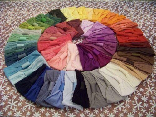 Wholesale Baby Toddler Girls Nylon Headband x 12  any colour combo you choose