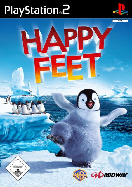 Happy Feet (Sony PlayStation 2, 2006, DVD-Box)