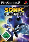 Sonic Unleashed (Sony PlayStation 2, 2008, DVD-Box)