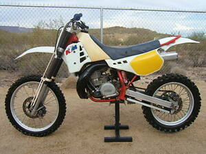 1988-KTM-350-E-XC-Vintage-MX-MotoCross-Desert-Enduro-CROSS-COUNTRY-XC-Nice-ORIG