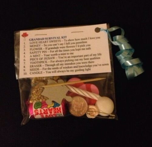 Grandad Survival Kit Gift For Grandad Grandfather Birthday Gift Fathers Day Gift