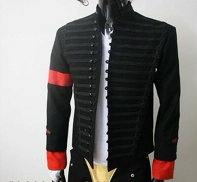 MICHAEL JACKSON MTV Awards Jackets Military MJ Show Party Costumes