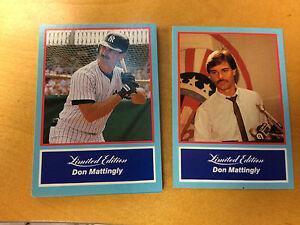 1988 Collectors Marketing Corp Don Mattingly 20 Card Set