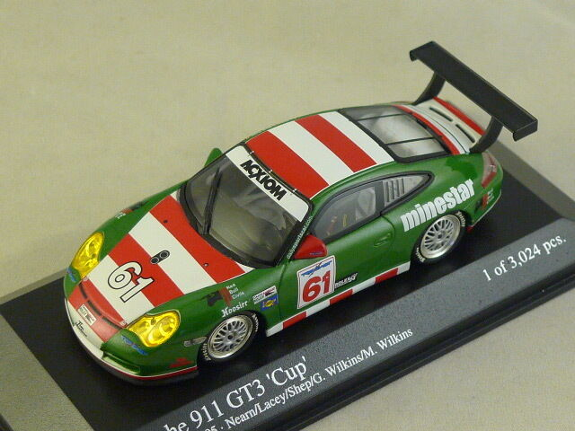 MINICHAMPS - Porsche 911 GT3 2005 24 Heures Daytona Team The Racers Group 1 43