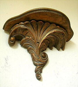 Very Fine Antique Italian Baroque Hand Carved Gilt Wooden