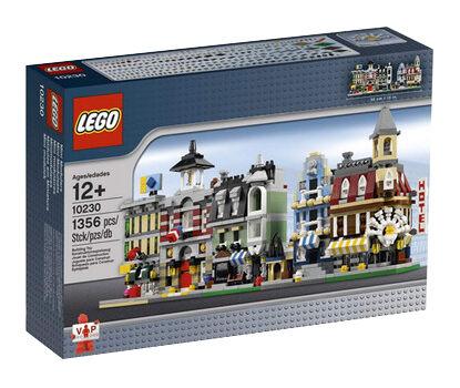 LEGO Creator Mini Modulars (10230); Brand New; 100% TO CHARITY