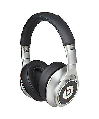 NEW OEM Beats by Dr. Dre Executive Headband Headphones - Silver