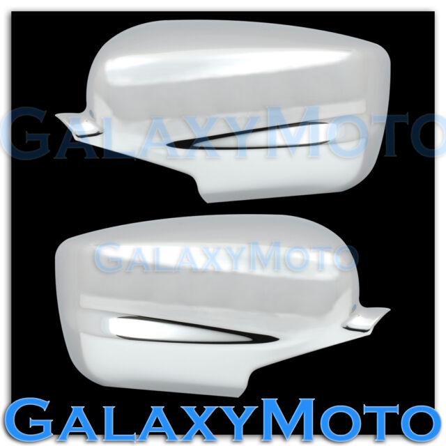 08-13 HONDA ACCORD Black Chrome Triple plated Full ABS Mirror Cover a pair