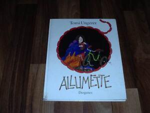 TOMI-UNGERER-ALLUMETTE-Diogenes-Hardcover-in-1-Auflage-1974