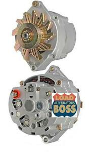 CHEVROLET-CORVETTE-CADILLAC-BUICK-HIGH-OUTPUT-LOAD-BOSS-ALTERNATOR-135-AMPS