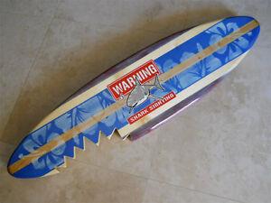 Blue Vintage Sharkbite 4 Foot Sign Horizontal Solid Wood ...