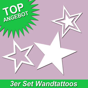 wandtattoo sticker sterne stern star sternenhimmel. Black Bedroom Furniture Sets. Home Design Ideas