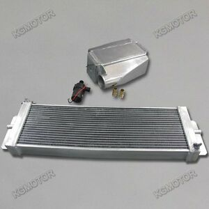 Full-water-to-air-intercooler-kit-pump-Heat-Exchanger