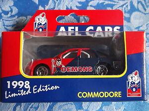 Matchbox Afl Cars Melbourne Demons Holden Commodore Ebay