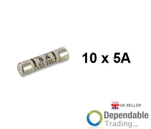 13A ou Mélange Amp Paquet 5A 10 X Prise Haut Fusibles en ou L/'Autre 3A