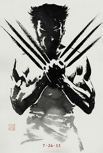 HUGH-JACKMAN-WOLVERINE-AWESOME-MOVIE-POSTER-PRINT-LOOKS-GREAT-FRAMED
