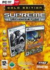 Supreme Commander - Gold Edition (PC, 2007, DVD-Box)