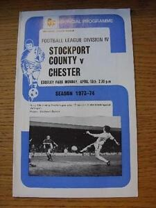 15041974 Stockport County v Chester City  Light Crease Team Changes Item I - Birmingham, United Kingdom - Returns accepted within 30 days after the item is delivered, if goods not as described. Buyer assumes responibilty for return proof of postage and costs. Most purchases from business sellers are protected by the Consumer Contr - Birmingham, United Kingdom