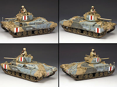 KING AND COUNTRY 8TH ARMY Valentine MK III Tank  EA078 EA78