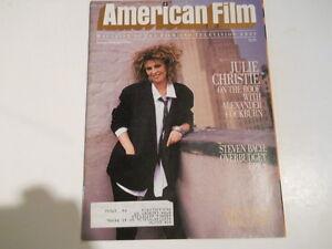 Julie-Christie-Fred-Zinnemann-Grace-Jones-Godard-American-Film-Magazine-1986